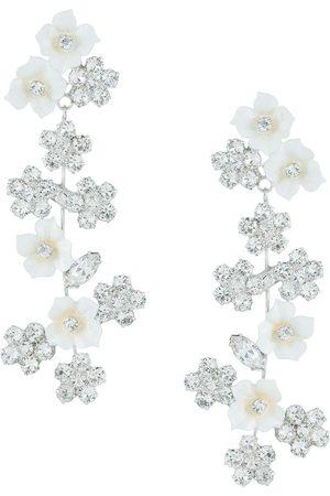Jennifer Behr Women Earrings - Delphine floral earrings