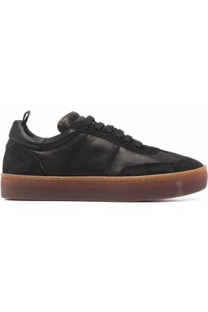 Officine creative Women Sneakers - Kombined leather trainers