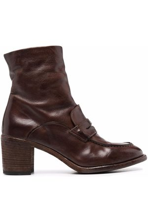Officine creative Leather ankle boots