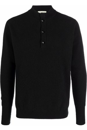 Roberto Collina Button-placket knitted jumper