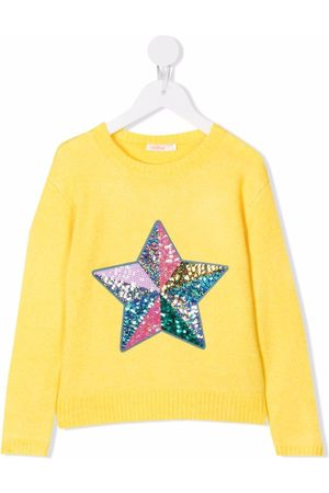 Billieblush Sequined knitted jumper
