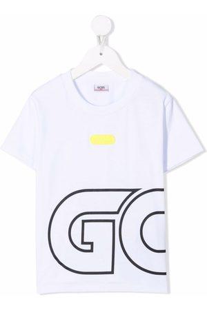 GCDS Boys Short Sleeve - Logo print T-shirt