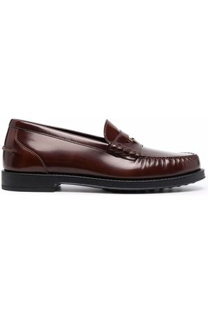 Tod's Women Loafers - Gommino leather penny loafers