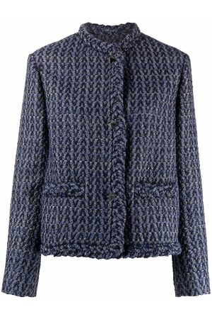 VALENTINO Women Jackets - V-pattern tweed jacket