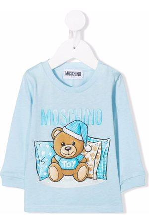 Moschino Sleepy Teddy long-sleeve T-shirt