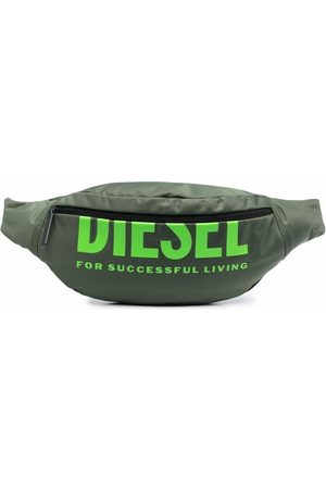 Diesel Boys Belts - Logo-print belt bag