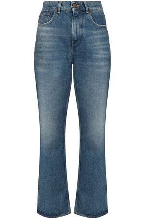 Golden Goose Women Jeans - GG DERYN JNS STRGHT LG HW CRPPD