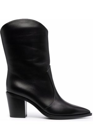 Gianvito Rossi Women Boots - Pointed leather boots