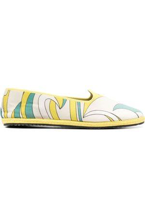 Emilio Pucci Nuages-Print Friulane slippers