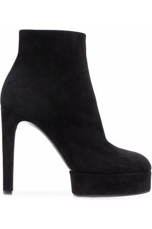 Casadei Ankle-length suede platform boots
