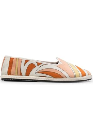 Emilio Pucci Women Slippers - Nuages-Print Friulane slippers