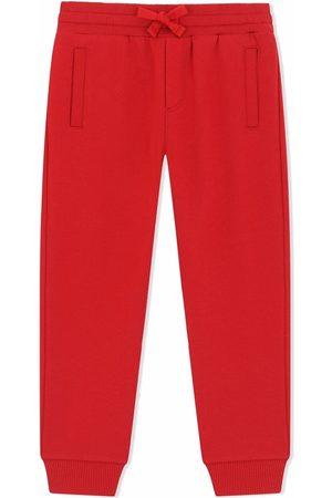 Dolce & Gabbana Boys Pants - Drawstring track pants