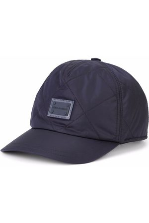 Dolce & Gabbana Quilted logo-patch cap