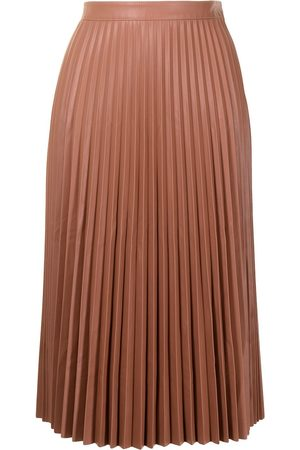 PROENZA SCHOULER WHITE LABEL Women Leather Skirts - Pleated faux-leather skirt