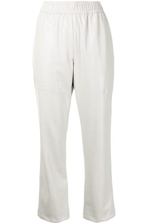 PROENZA SCHOULER WHITE LABEL Women Leather Pants - Elasticated faux-leather trousers