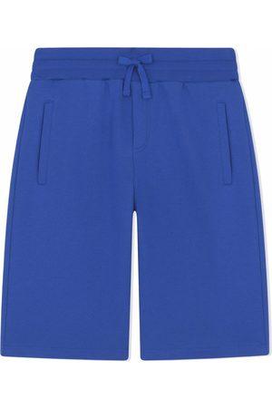 Dolce & Gabbana Boys Shorts - Logo plaque shorts