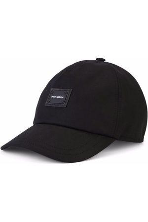 Dolce & Gabbana Boys Hats - Logo-patch stretch-cotton cap