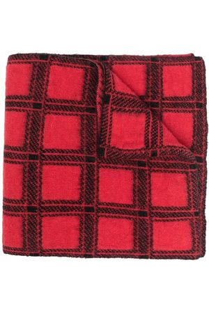 Pinko Women Scarves - Checked knitted scarf