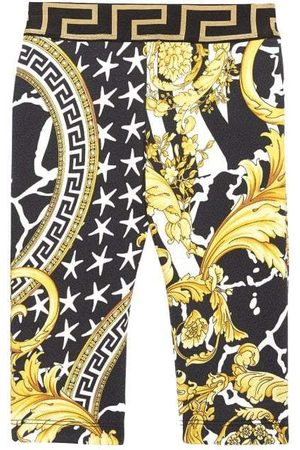 VERSACE Young Baby All-Over Print Joggers - 6-9 M