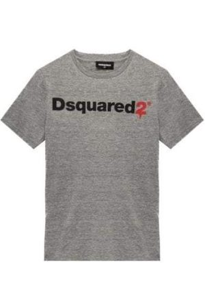 Dsquared2 Cotton Logo Tee - 4Y