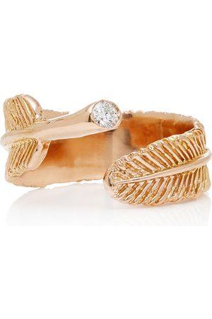 DANIELA VILLEGAS Women's Wing 18K Rose Diamond Ring