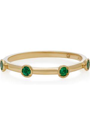 Octavia Elizabeth Women's 18K Gold Emerald Ring