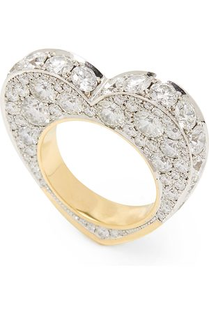 Jessica McCormack Women's 14K And Yellow Gold And Diamond Ring