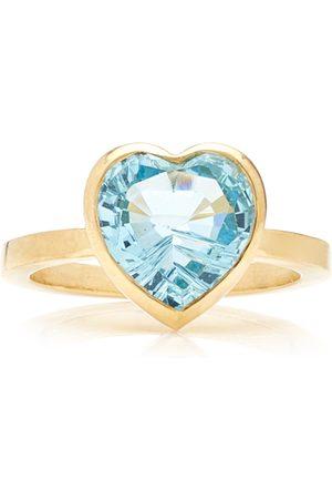 Katey Walker Women's London 18K Gold Topaz Ring