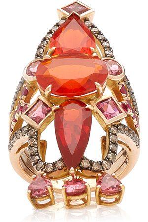 M.Spalten Women's Empress 18K Rose Gold Multi-Stone Ring