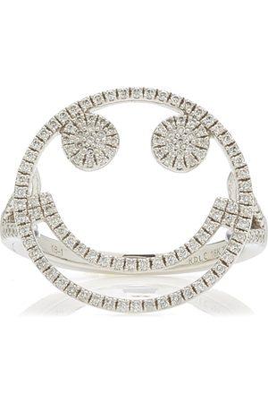 ROSA DE LA CRUZ Women's Smile 18k Gold Diamond Ring