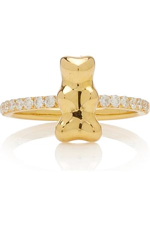 Lauren X Khoo Women's Gummy Bear 18K Yellow Diamond Ring