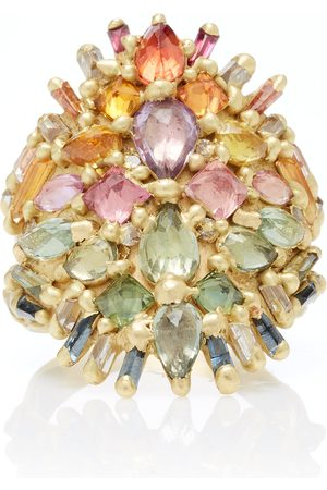 Polly Wales Women's One-Of-A-Kind Handira Shield Ring