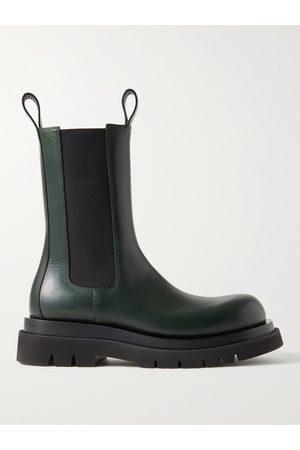 Bottega Veneta Men Boots - Leather Chelsea Boots