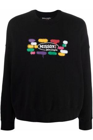 Palm Angels X Missoni Sport logo print sweatshirt