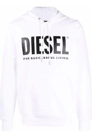 Diesel Logo-printed cotton hoodie