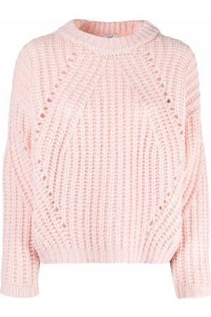PESERICO SIGN Knitted long-sleeve jumper