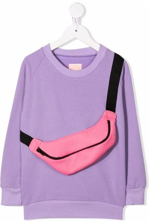 Wauw Capow by Bangbang Girls Jumpers - Candy carrier sweater