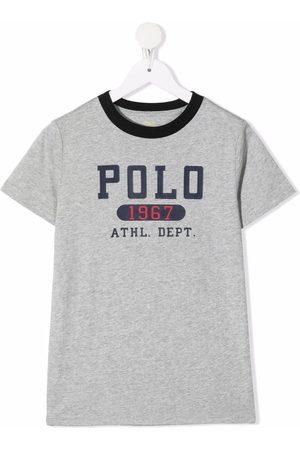 Ralph Lauren Boys Short Sleeve - Logo-print cotton T-shirt