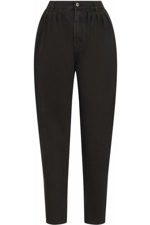Dolce & Gabbana High-waisted tapered jeans