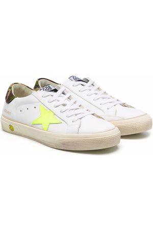 Golden Goose Boys Sneakers - TEEN Superstar lace-up sneakers