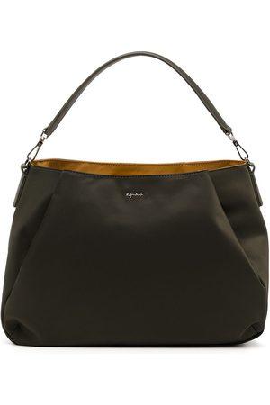 AGNÈS B. Women Handbags - Logo-plaque satchel bag