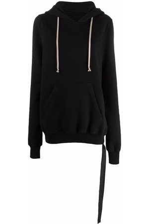 Rick Owens Slouchy cotton hoodie