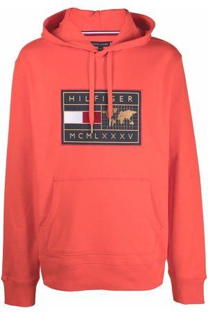 Tommy Hilfiger Men Sweatshirts - Logo print hoodie
