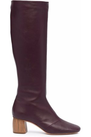 FORTE FORTE Mid block-heeled boots