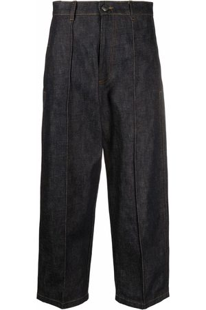 Ami Wide-leg cropped jeans