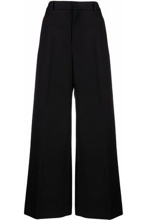 Ami Wide-leg tailored trousers