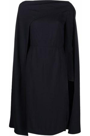 VALENTINO Boat-neck long-sleeve dress