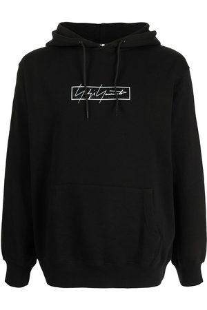 YOHJI YAMAMOTO Men Sweatshirts - Logo-print hoodie