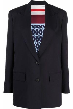 VALENTINO Women Blazers - Peak-lapel single-breasted blazer