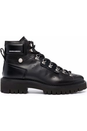 Dsquared2 Lace-up leather ankle-boots